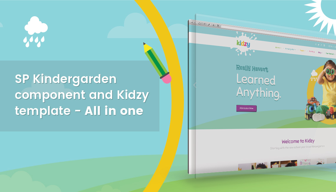 How to build a kindergarten or elementary school website
