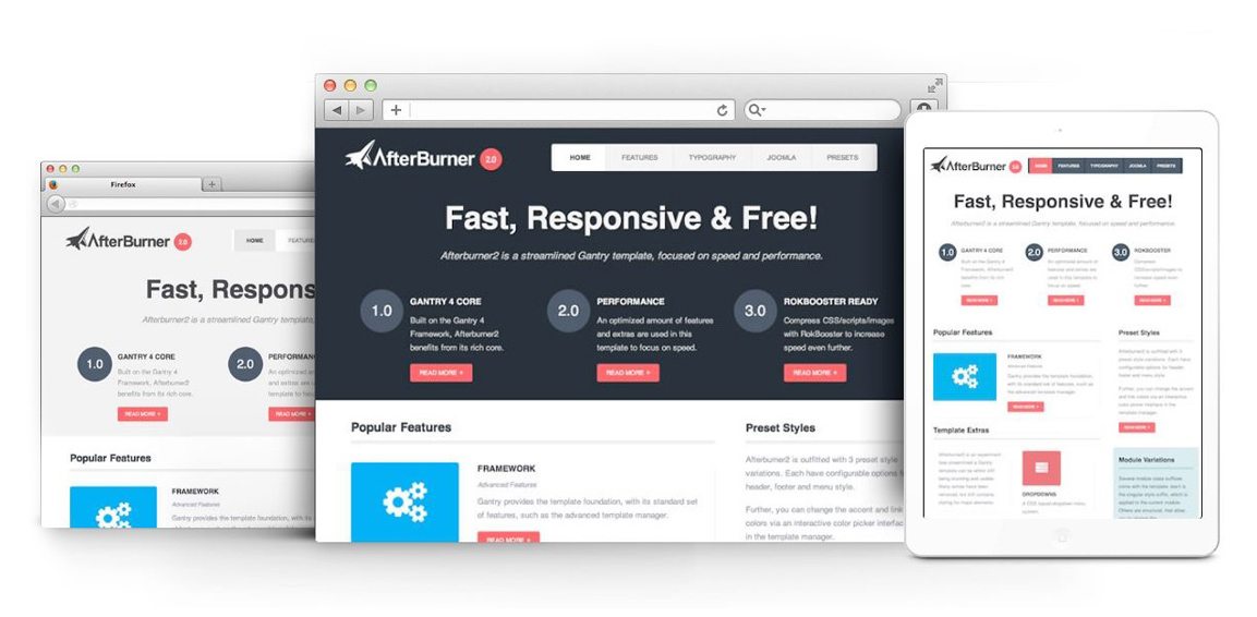 10 Best Free Responsive Joomla Templates Joomshaper