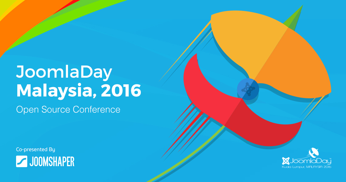 JoomShaper co-presents JoomlaDay Malaysia 2016