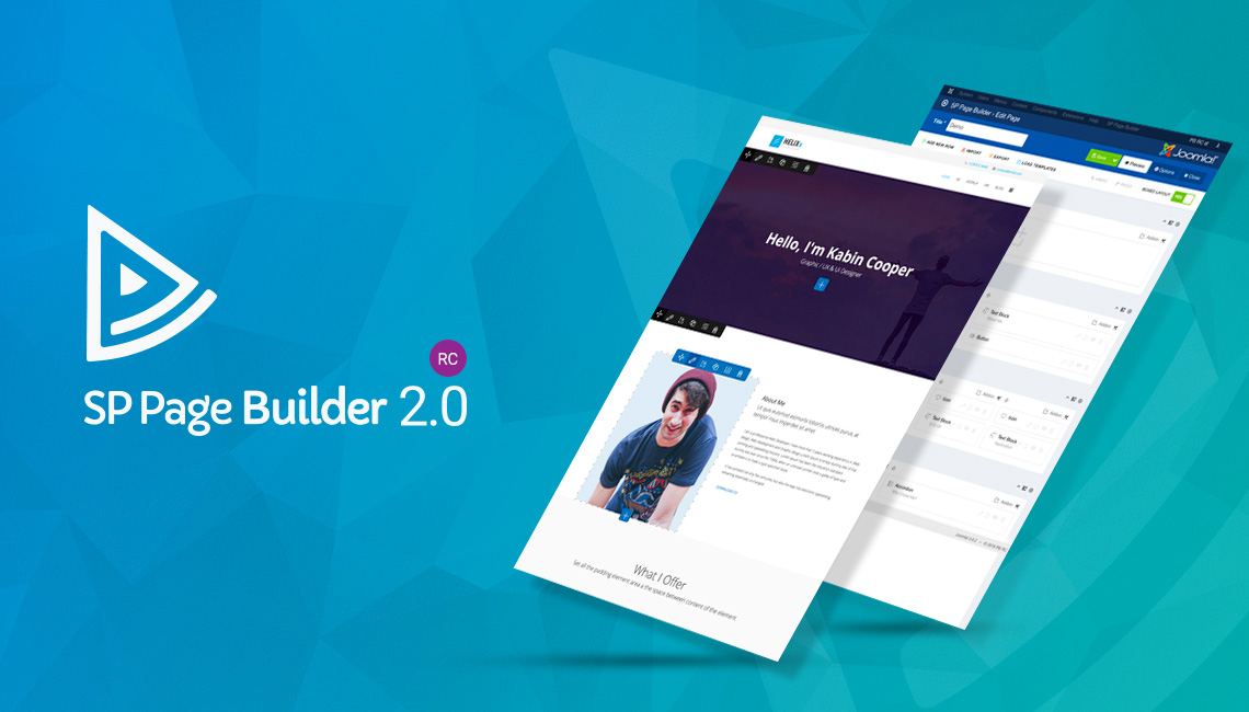 SP Page Builder 2.0 RC is now available to download