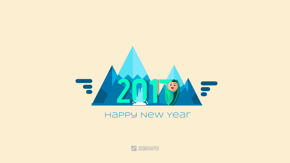 Happy new year! Greetings and promises from JoomShaper