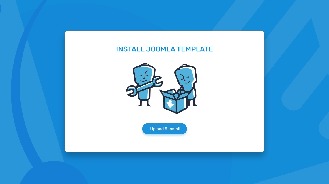 Joomla Basics: How to install a Joomla template