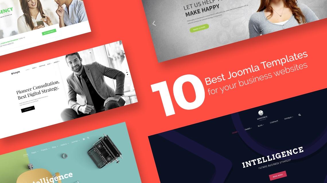 10 best Joomla templates for your business websites