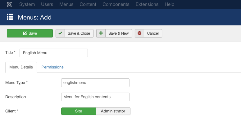 Step by step tutorial for creating a multilingual Joomla site