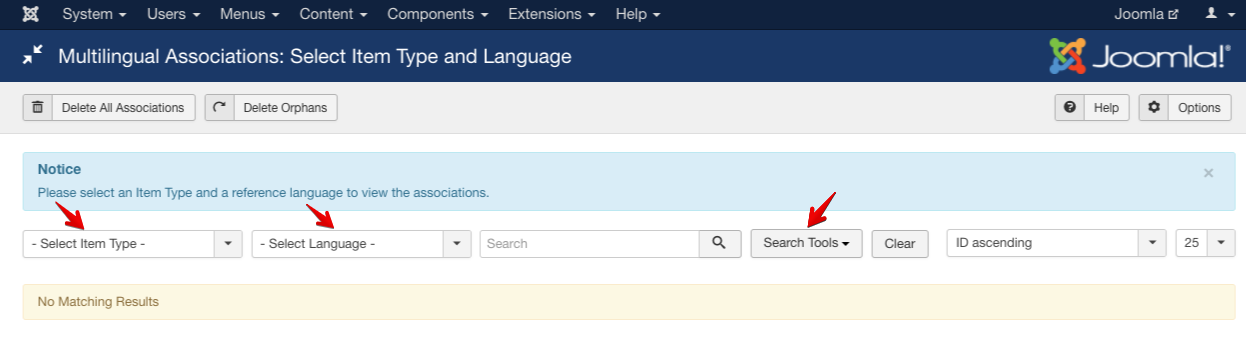 How to use new Multilingual Associations feature of Joomla 3.7