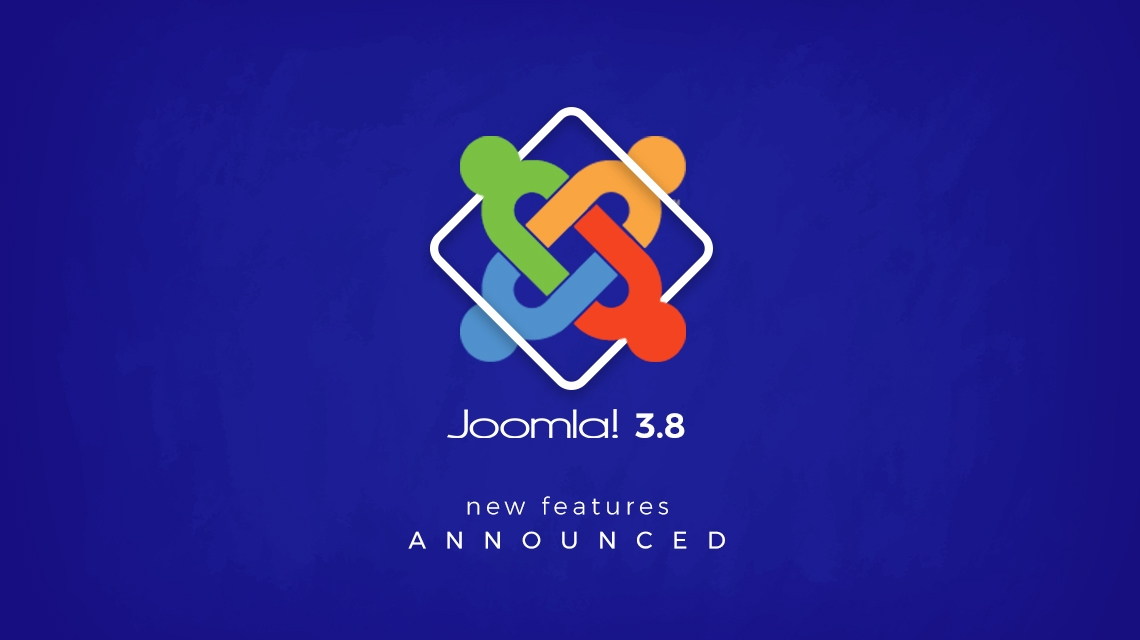 Joomla 3.8 new features announced