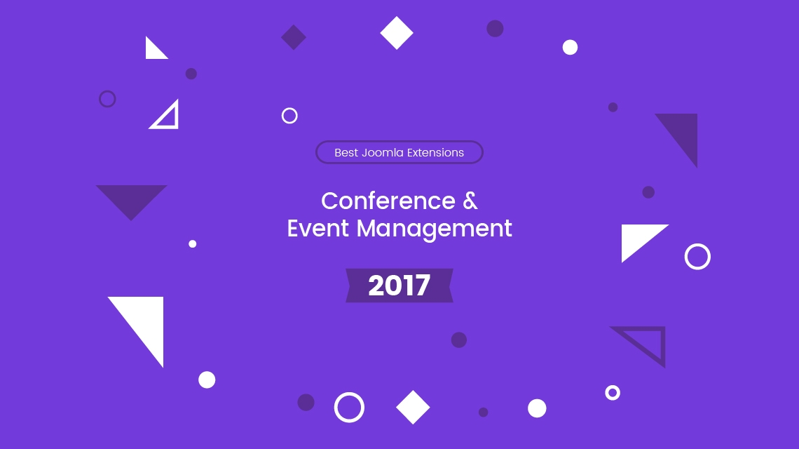 5+ best Joomla extensions for conference and event management 2017