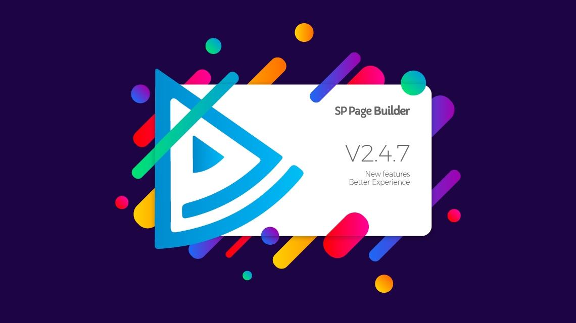 Update: SP Page Builder gets new language management & improved addons in v2.4.7