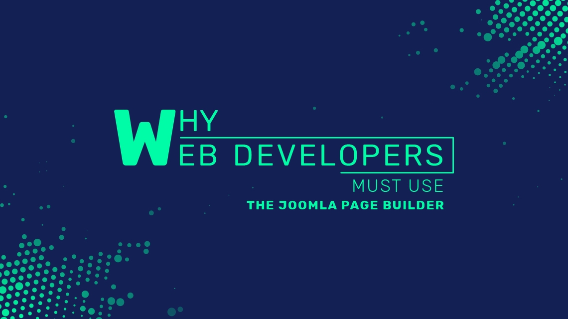 Why web developers must use the Joomla page builder?