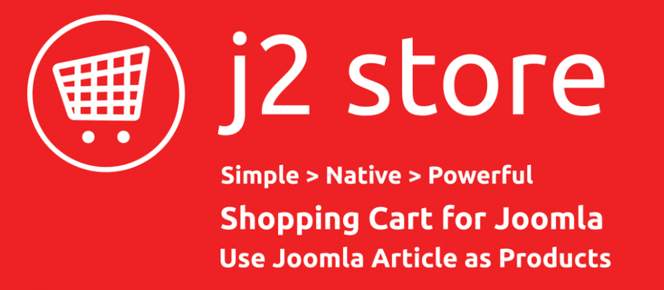 J2Store lightweight eCommerce extension for Joomla