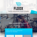 Introducing Floox: The August 2017 Joomla template