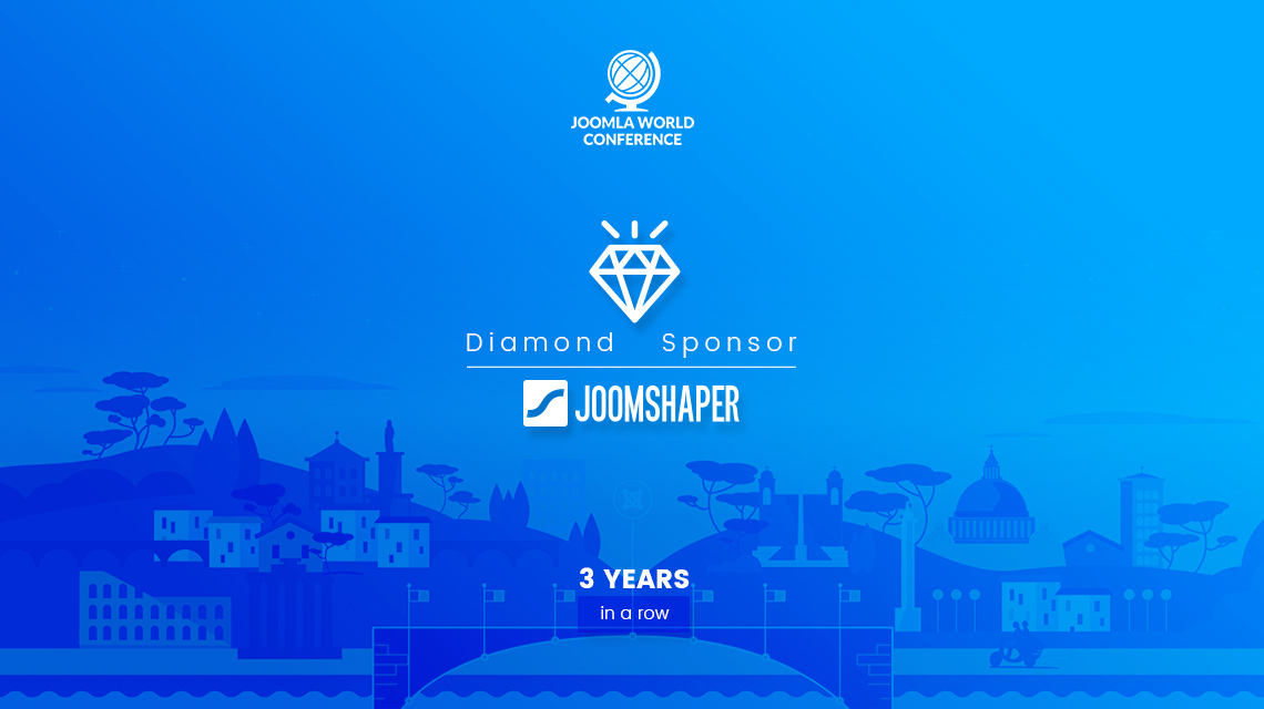 JoomShaper is sponsoring Joomla World Conference 2017 (It's 3 years in a row!)