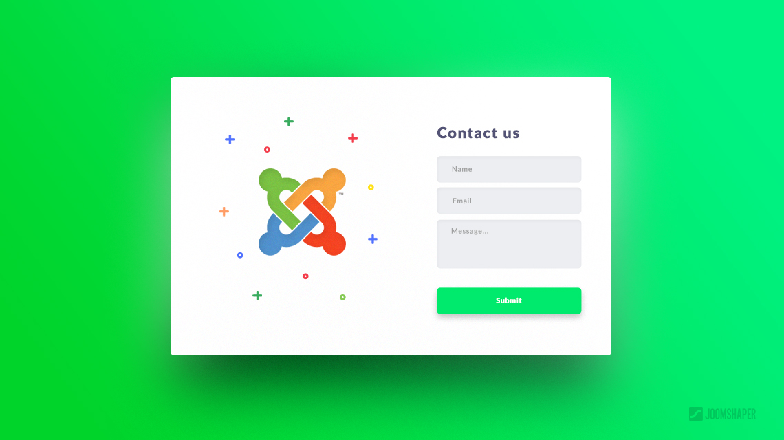 How to create an Ajax contact form in Joomla?