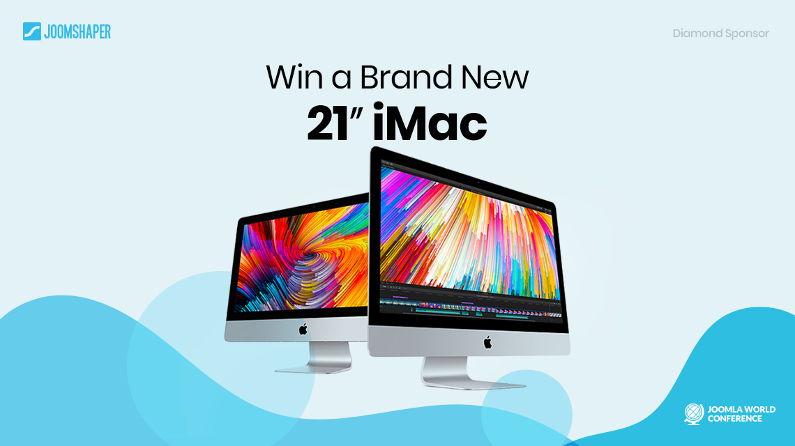 Win a brand new iMac from JoomShaper at Joomla World Conference 2017