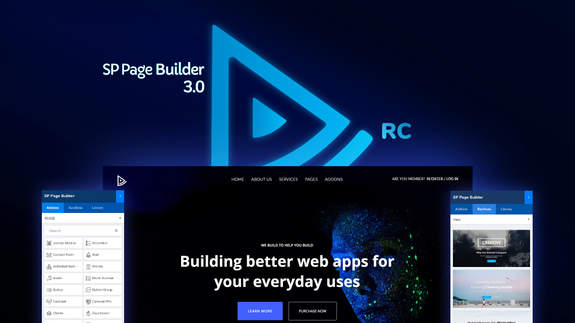 SP Page Builder 3.0 RC is here with tweaked UX and improvements