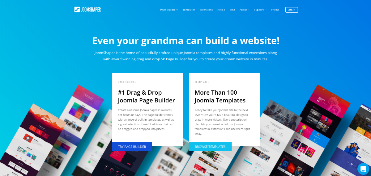 New re-designed JoomShaper site