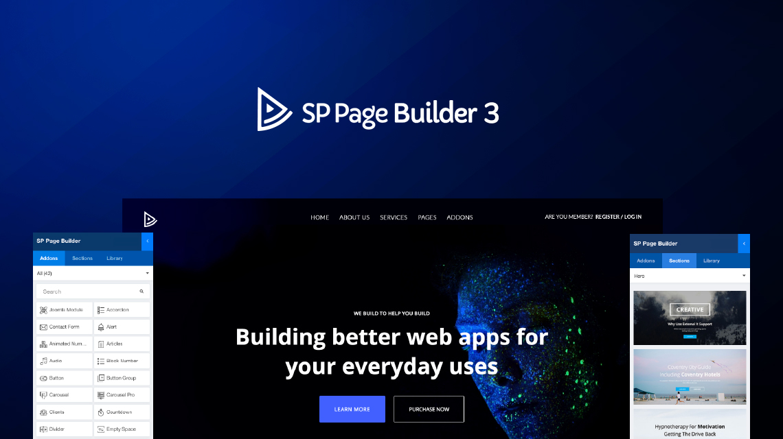 SP Page Builder 3 : the most famous Joomla page builder