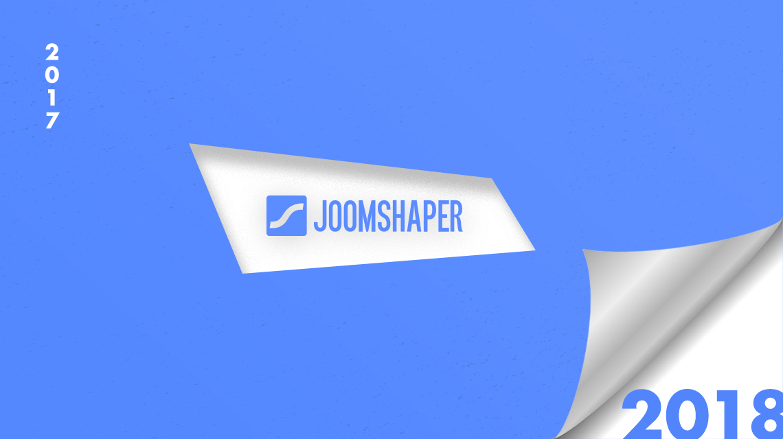 Year in review 2017: The progresses JoomShaper made eying at the future