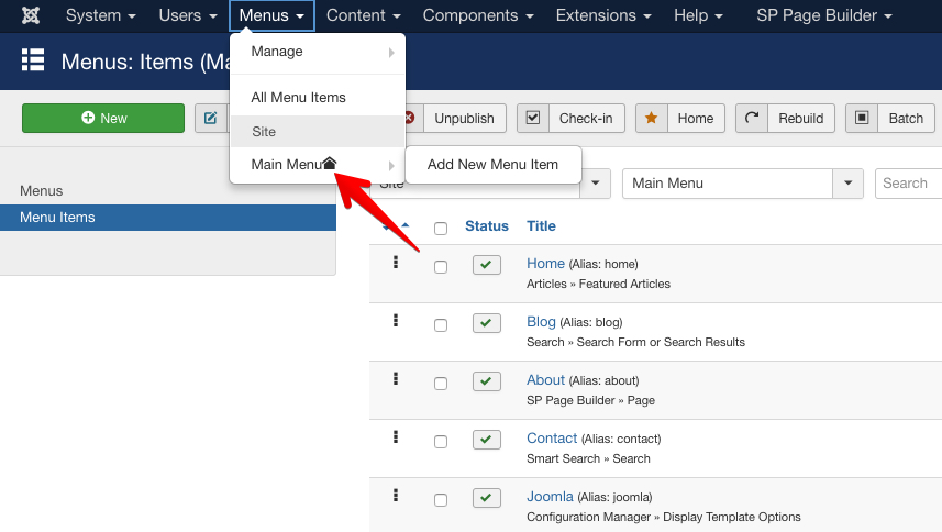 Why and how to create hidden menu items in Joomla