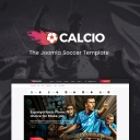 Introducing Calcio: The February 2018 Joomla template
