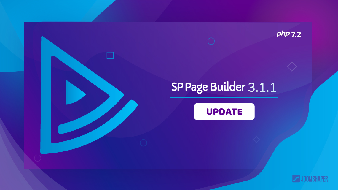 SP Page Builder 3.1.1 update: Button gradient, PHP 7.2 compatibility and more