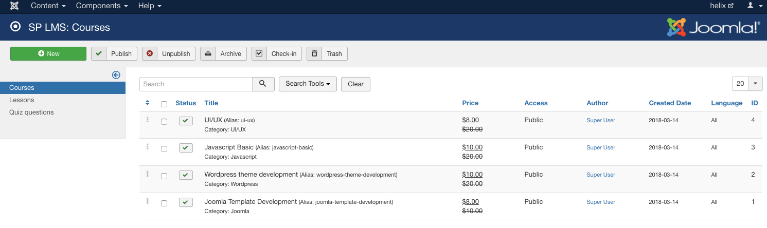 SP LMS 3.0 is here with discount, rating and more e-learning features