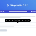 Update: SP Page Builder 3.2.2 comes with inline editing system along with lots of enhancements