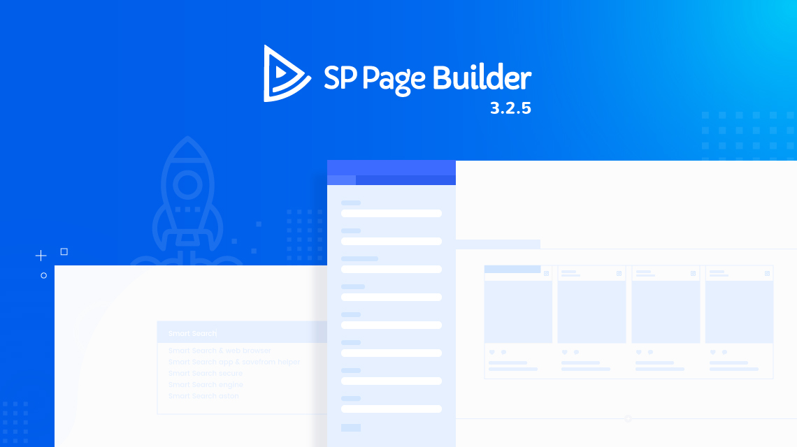 Update: SP Page Builder gets a speed-boost, smart search enhancement and more