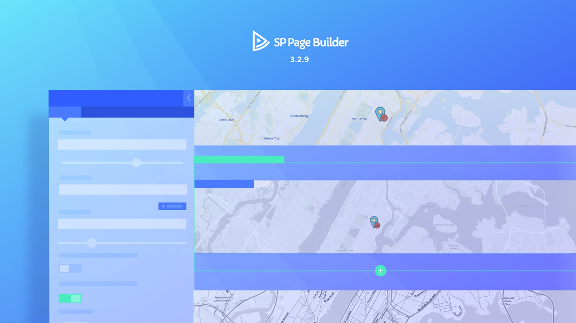 Update: SP Page Builder 3.2.9 comes with Open Street Map addon