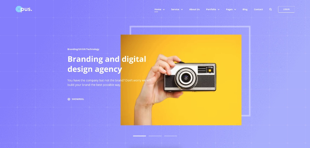 Opus review: The creative agency template you've been looking for