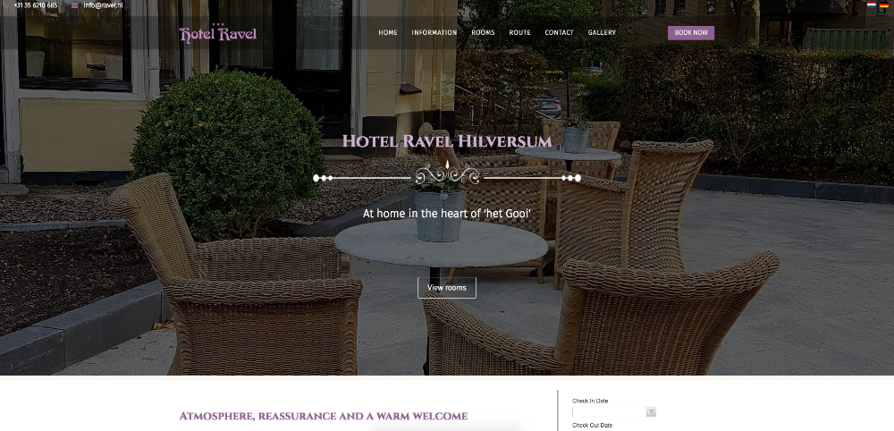 Top hotel sites built with SP Page Builder