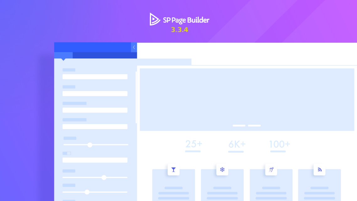 SP Page Builder 3.3.4 is here with powerful new addon features