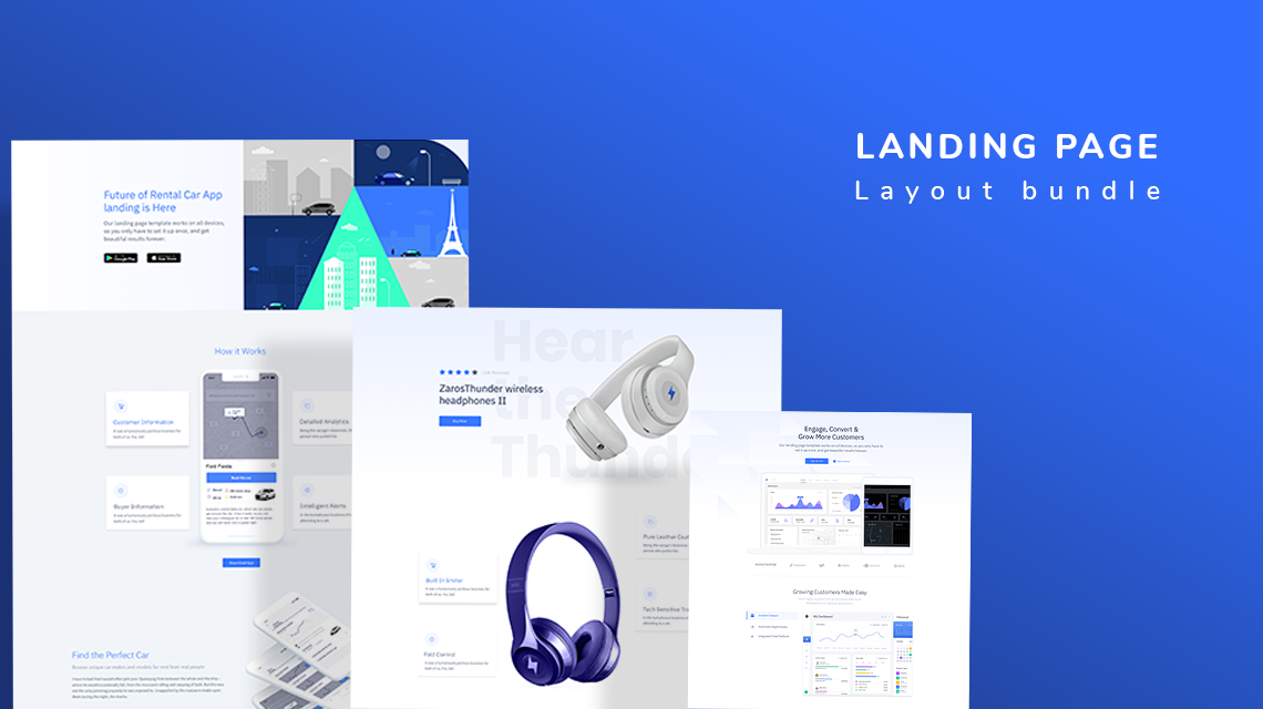 Introducing Landing Page layout bundle in SP Page Builder Pro