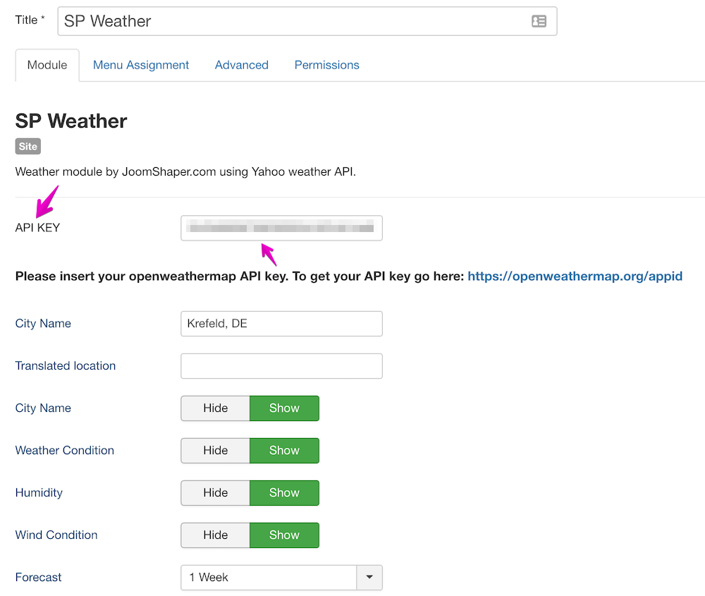 SP Weather module updated with new API and performance boost