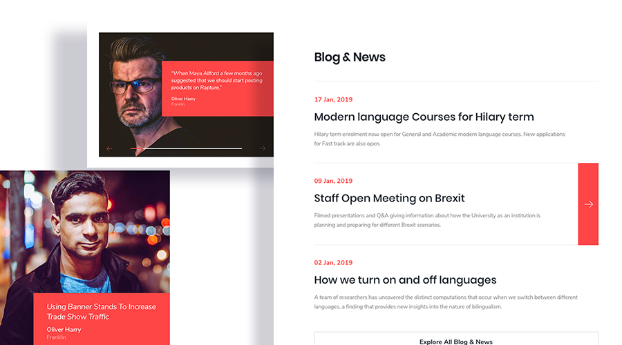 Introducing Language School: Joomla template for language institutes & coachings