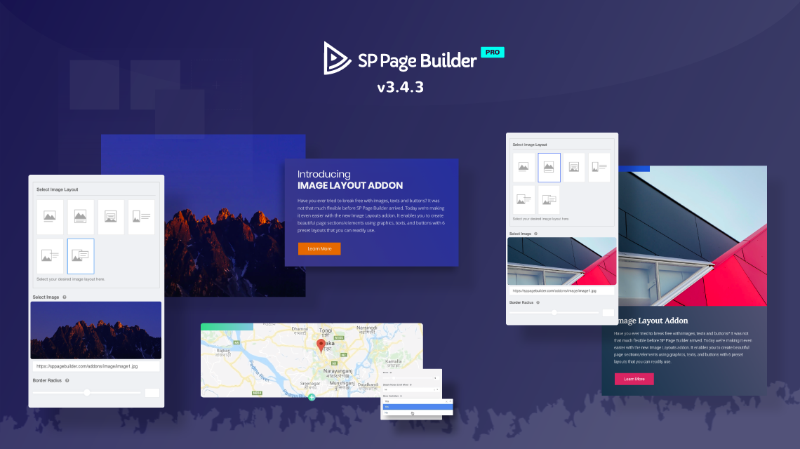 Update: SP Page Builder gets new Image Layouts addon & more shapes in v3.4.3 Pro