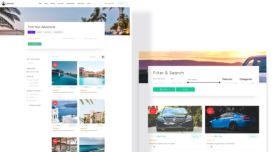 Introducing Travus: the complete travel agency Joomla template
