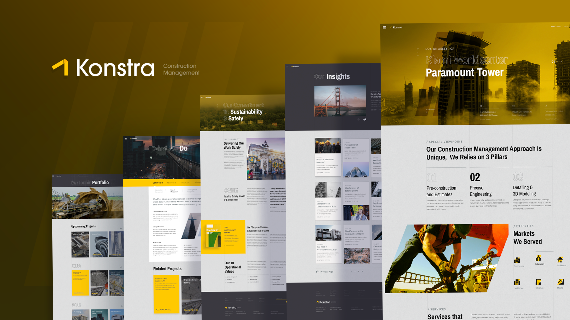 Introducing Konstra: Inclusive Construction Website Solution on Joomla