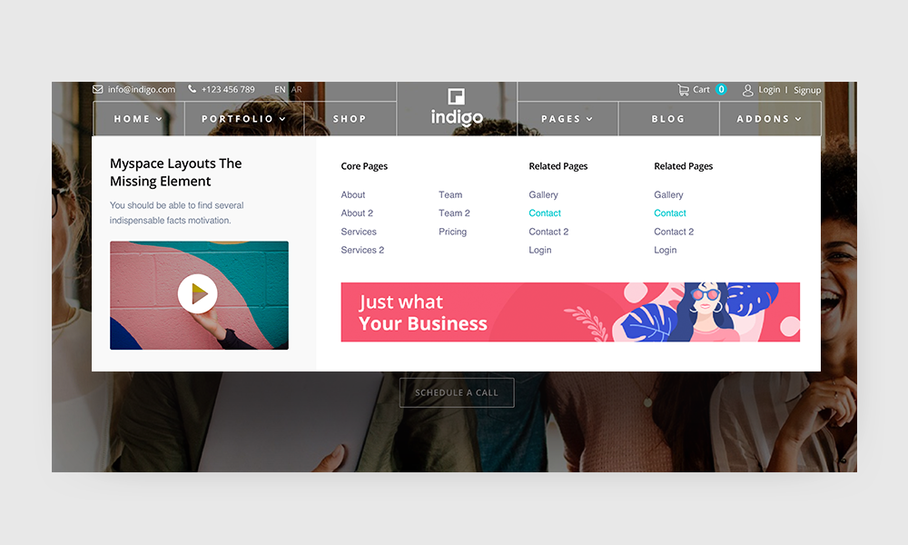 Introducing Indigo: A Modern Joomla Multipurpose Template for Agency & Creative Businesses