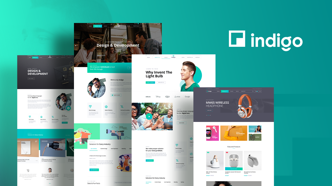 Introducing Indigo: A Modern Joomla Multipurpose Template for Business and Agency Sites