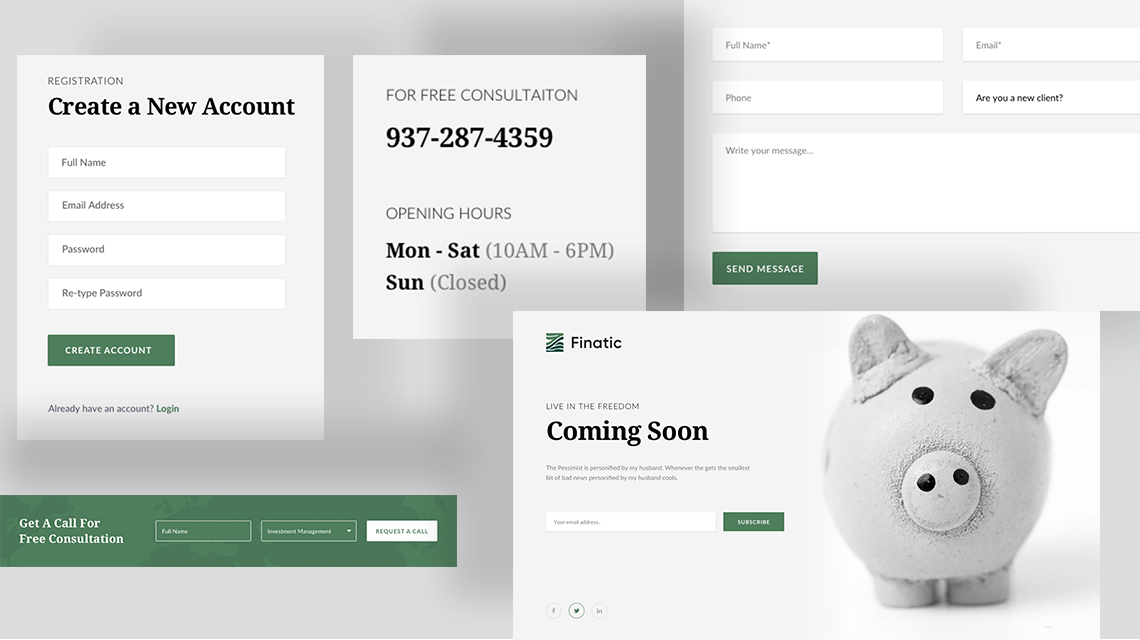 Introducing Finatic: All-inclusive Financial Website Template on Joomla