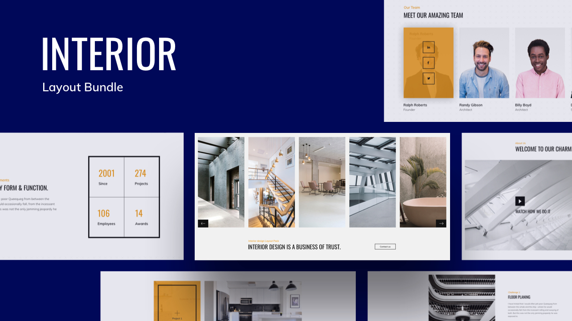 Introducing Free Interior Layout Bundle for SP Page Builder Pro