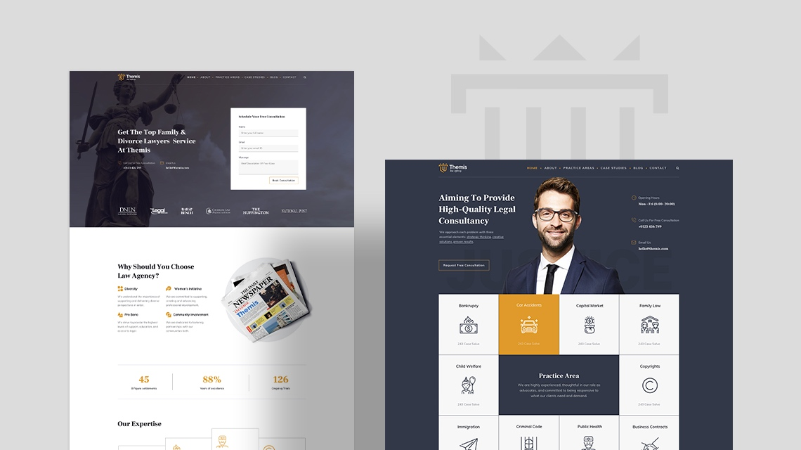 Introducing Themis: The Best Law Firm Joomla Template is Here Now