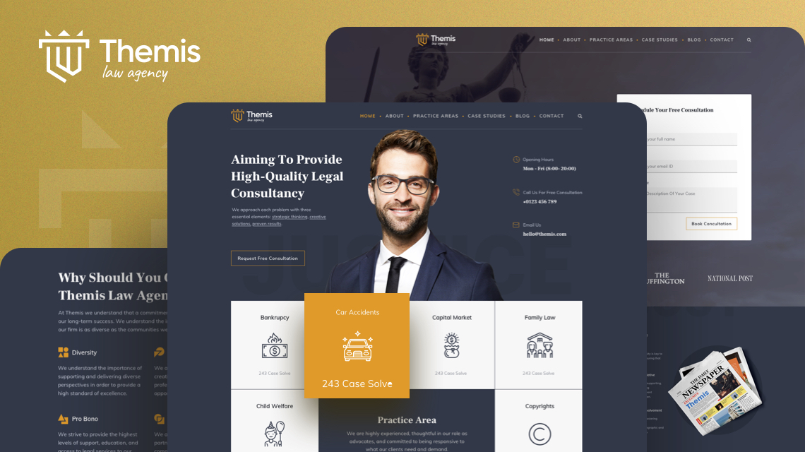 Introducing Themis: The Best Law Firm Joomla Template is Here
