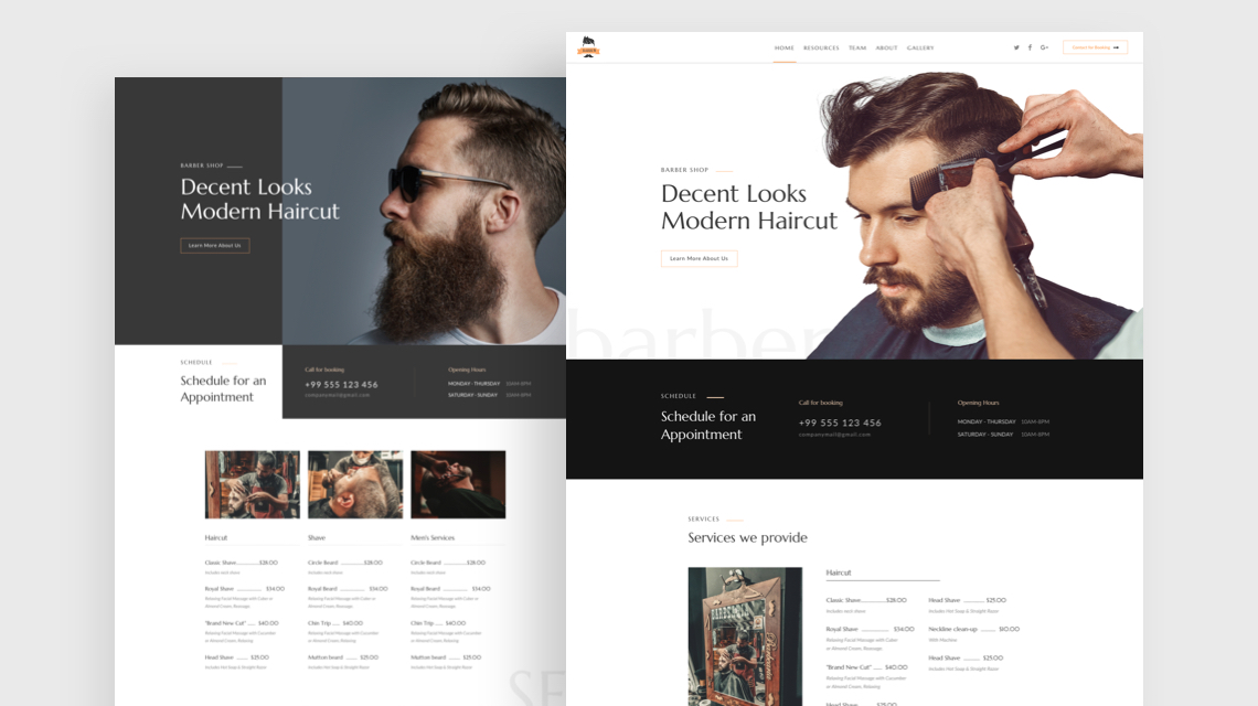 Introducing Barber: A Hairdresser and Beauty Salon Joomla Template
