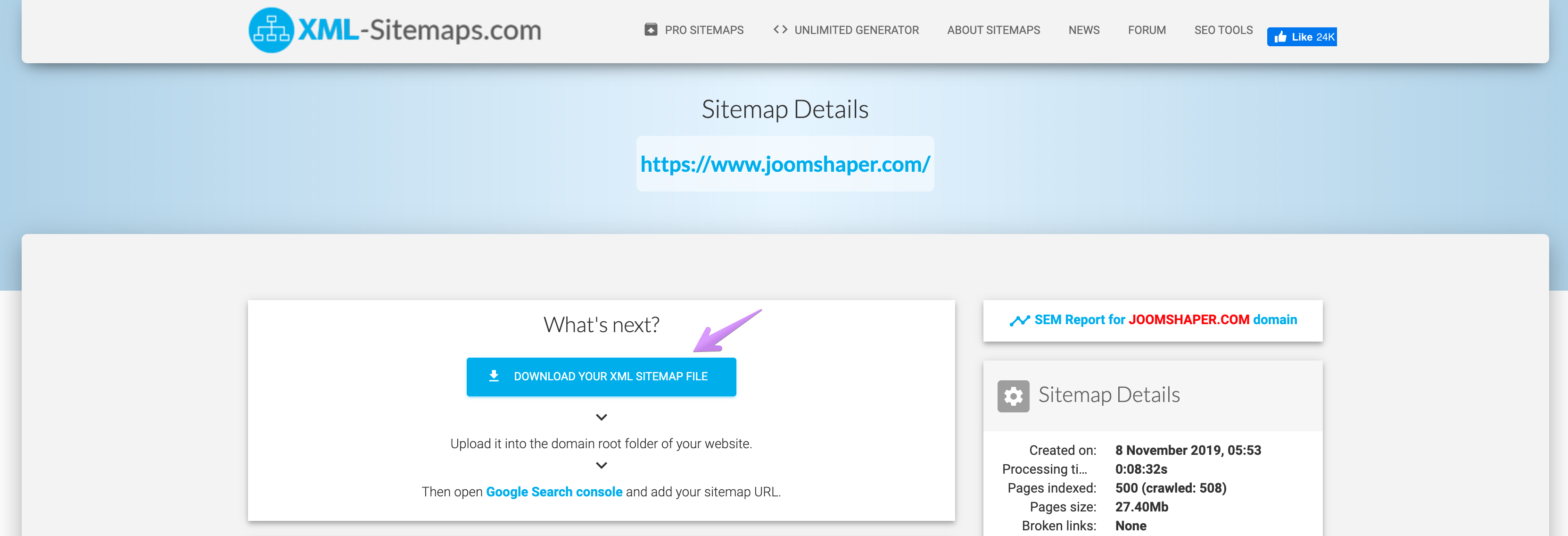 How to Create an XML Sitemap For Your Joomla Website