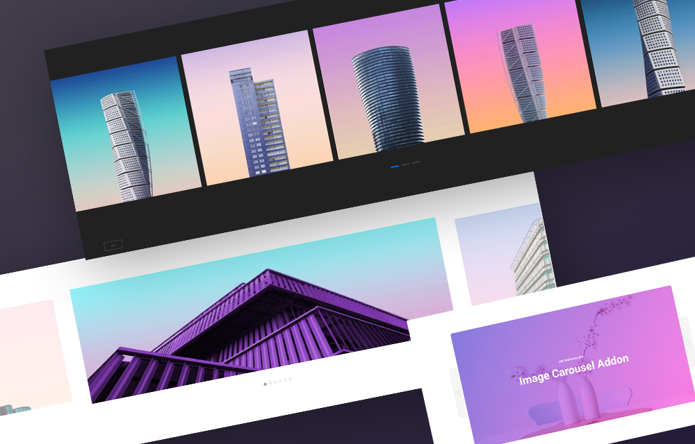Brand New Image Carousel Addon Arrives in SP Page Builder Pro