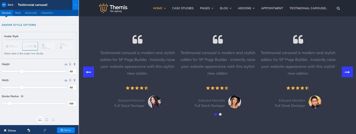 Introducing All-new Testimonial Carousel Addon in SP Page Builder Pro to Get More Social Proof