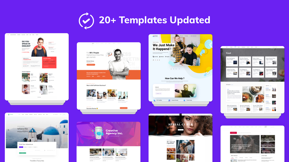 20+ Joomla Templates Get Latest Helix Ultimate, SP Page Builder Pro, and More