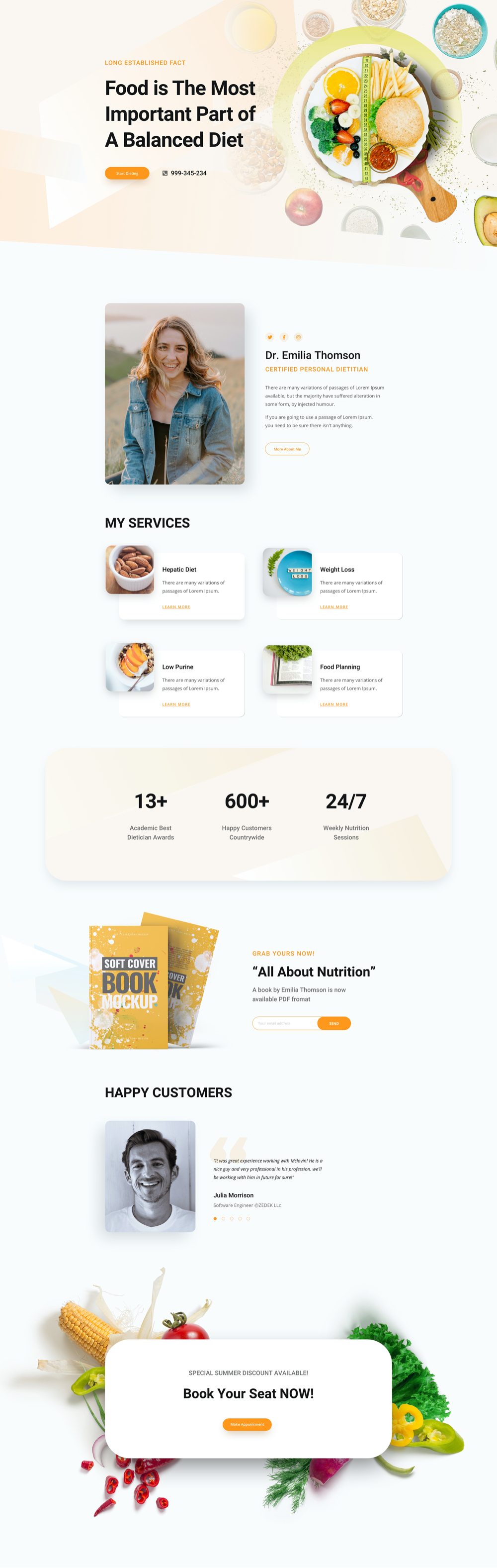 Dietician Home Layout